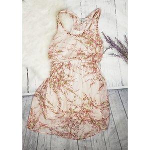 Delia's Juniors L Floral Tank Dress